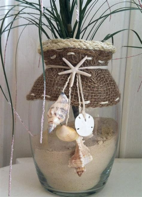 Vases With Seashells by Seashell Decor Vase By The Sea 2