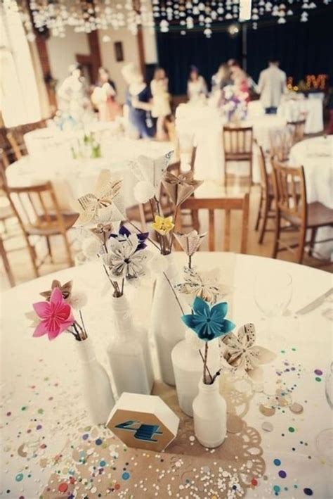 Origami Wedding Centerpieces - 17 best images about trendy origami wedding ideas on