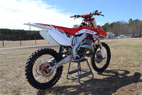 motocross bike setup image gallery honda cr 125