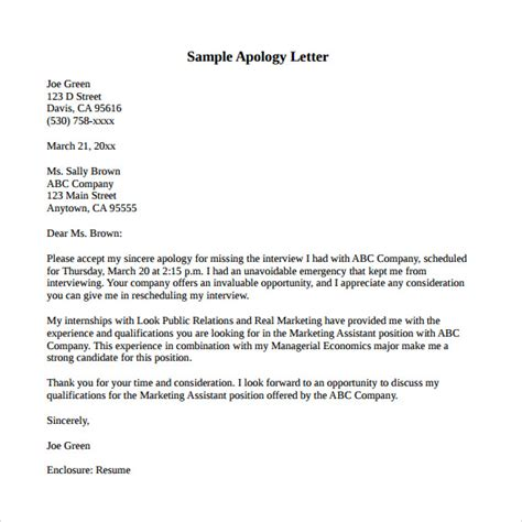Apology Letter Of Being Late Letter Of Appointment Sle Search Results Calendar 2015