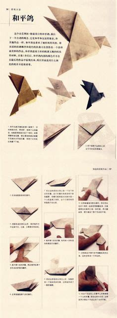 How To Make An Origami Dove Step By Step - 1000 images about origami on origami origami