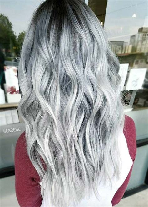 silver blue long hair pictures photos and images for facebook 85 silver hair color ideas and tips for dyeing