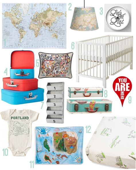 fun website find the make room planner little miss redhead travel the world nursery rustic baby chic