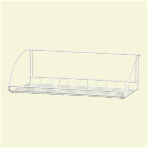 Closetmaid Hanging Shelf closetmaid 24 in white versatile hanging shelf 8279 the