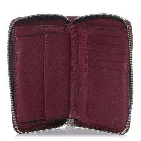 Sho Wallet gucci leather soho compact wallet bordeaux 41805