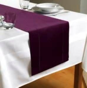 Kitchen Table Runners Plain Purple Plum Table Runner 70 Quot X 12 Quot 180cms X 30cms
