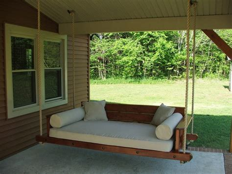 porch bed swing diy porch swing bed furniture ideas bistrodre porch and