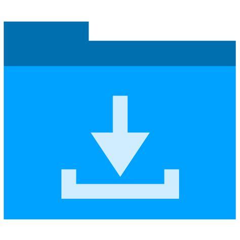 convertir imagenes png a ico icono descargas carpeta gratis de phlat blue folders icons