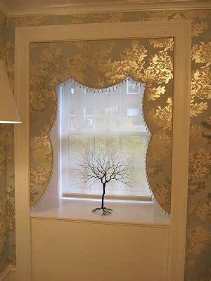 willow bee inspired   window    lambrequin