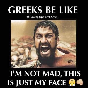 Greek Life Memes - this is sparta meme kappit