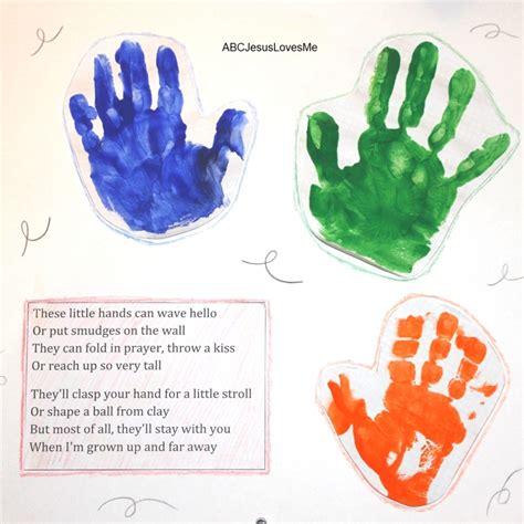 handprint calendar template handprint footprint calendar abc jesus me