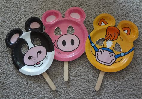 time for play zoo pal paper plate puppets