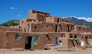 pueblo indian homes s houses a photo from new mexico west trekearth