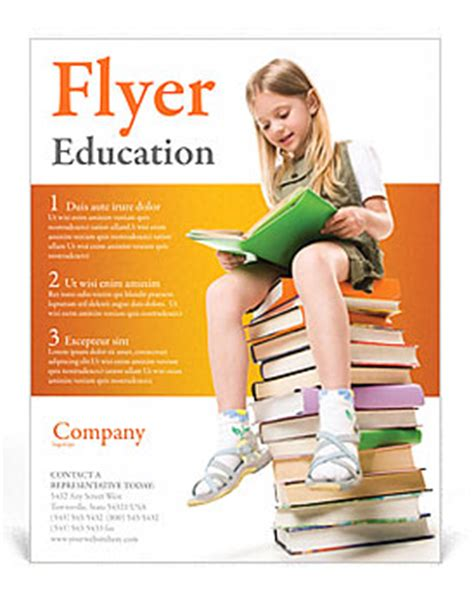 education flyer templates 13 best photos of educational flyer templates education