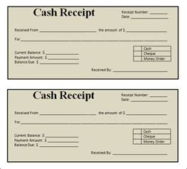 Sales Receipts Template Free Blank Restaurant Receipt Images