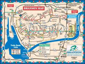 missouri attractions map map of branson mo travel to missouri