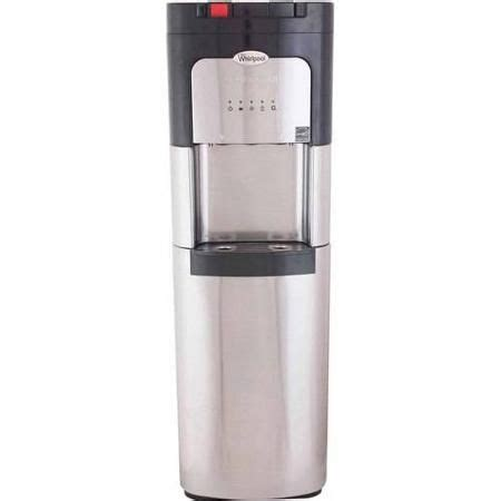 Water Dispenser Za whirlpool stainless steel bottom load water dispenser water cooler with self clean and 5 led