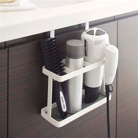Supply Outlet Hair Dryer yamazaki hair dryer iron holder the container store