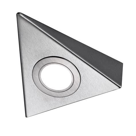 sensio dimmable sls hype led cabinet spotlight cool sls bermuda led under cabinet triangle light
