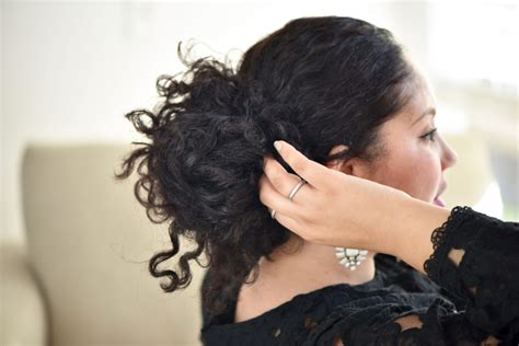 holiday hairstyles curly hair 3 easy holiday hairstyles for curly hair