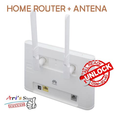 Modem Bolt Home Router jual home router huawei b310 bolt 4g lte unlock gsm 3g 4g