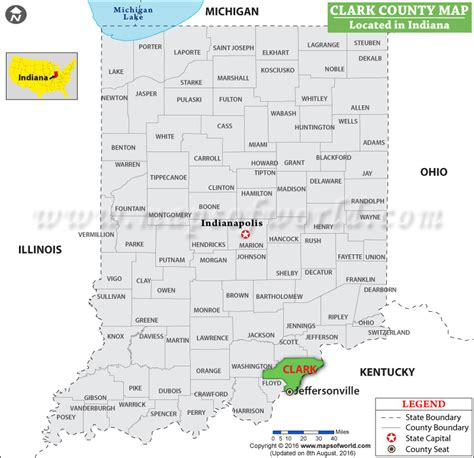 county gis indiana clark county map indiana
