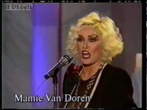 Meme Van Doren - mamie van doren 1992 tv interview and song medley youtube