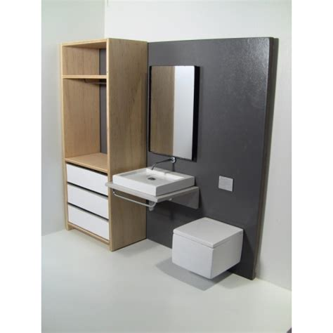 modern dollhouse furniture m112 pods single vanity