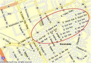map escondido california escondido california guide to antique shops