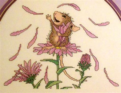 house mouse designs cross stitch house mouse designs she loves me mice flowers counted cross