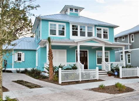 aqua house glenn layton homes house of turquoise