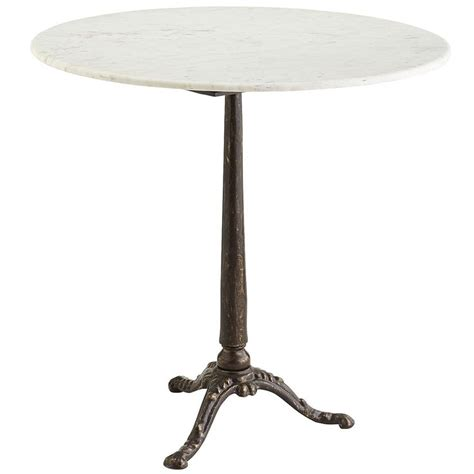 Marble Bistro Table Marble Bistro Table Bistro Tables Tables And Marbles