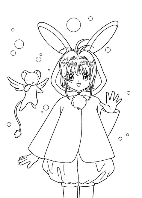 anime coloring book anime coloring pages for printable free