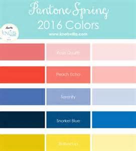 Pantone spring 2016 colors knotsvilla