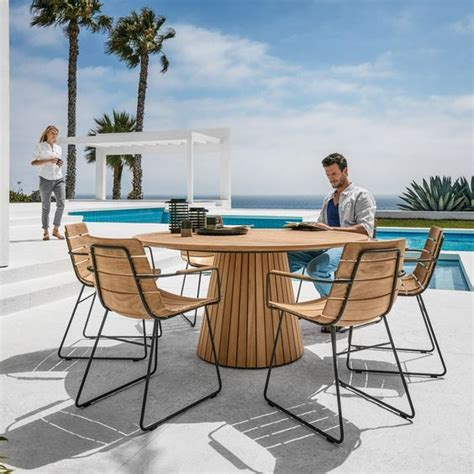modern outdoor dining furniture 30 awesome outdoor dining area furniture ideas digsdigs