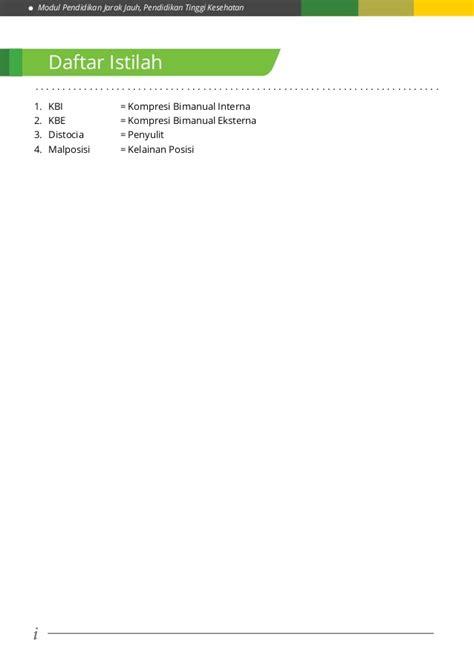 Modul Mata Kuliah Konsep Kebidanan modul 5 kb 2