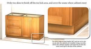 base cabinet fillers