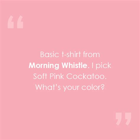 Crew Neck Sgreen Morning Whistle what they say about us