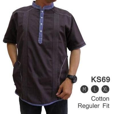 Baju Koko Muslim Gks07 Pakaian Muslim Pria jual beli baju koko muslim ks69 pakaian muslim pria