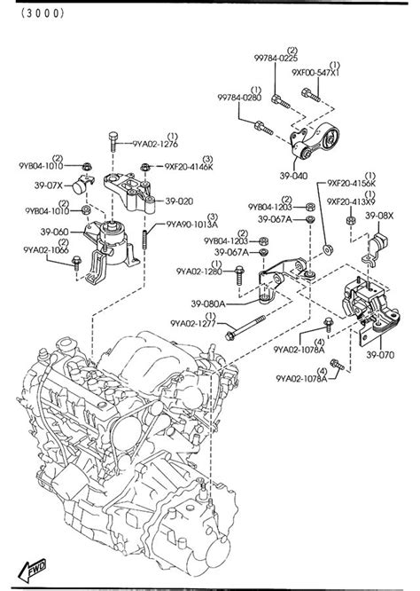 mazda 6 parts diagram mazda 6 v6 engine diagram car parts and wiring diagrams