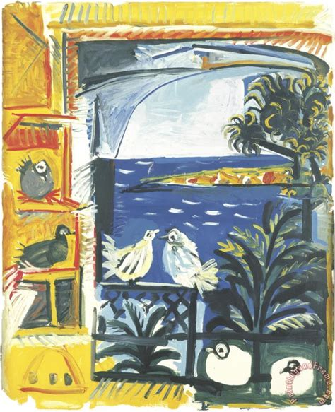 picasso paintings on sale pablo picasso the pigeons painting the pigeons print for