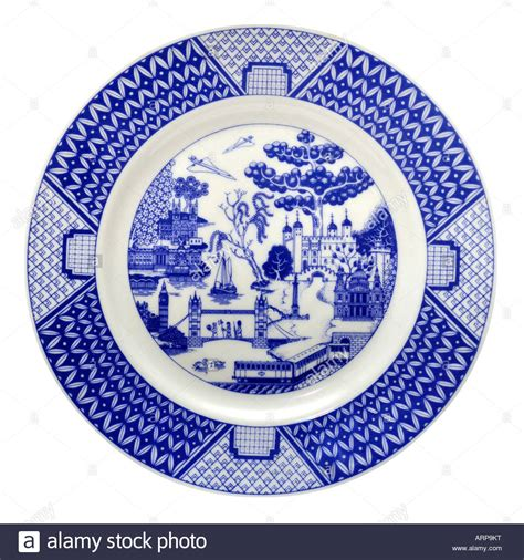 willow pattern en francais the london willow pattern plate by gladstone pottery