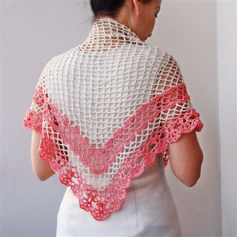 pattern for triangle shawl crochet pattern shawl women triangle shawl crochet lace