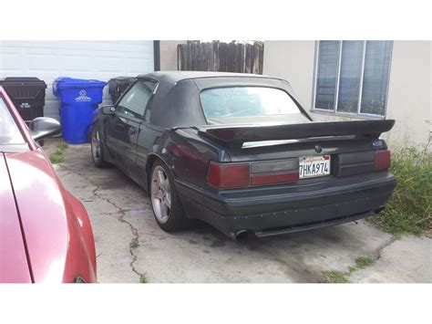 1991 ford mustang classic car by owner in san diego ca
