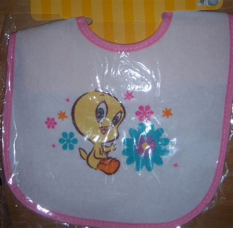 Tweety Bird Baby Shower by New Baby Looney Tunes Bib Baby Bugs Bunny Baby Tweety