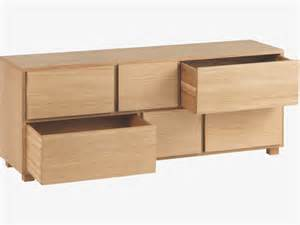 hana ii 6 drawers low chest qualita