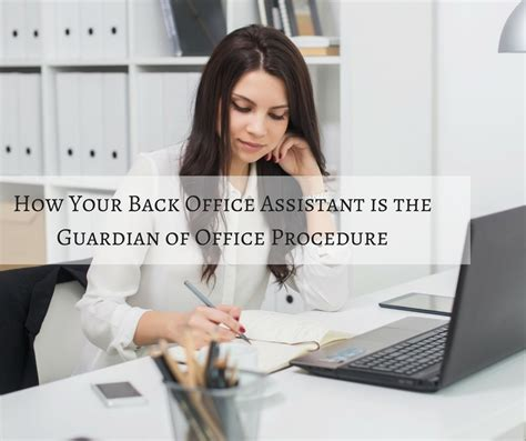 Back Office Assistant by What Makes A Great Back Office Chiropractic Assistant
