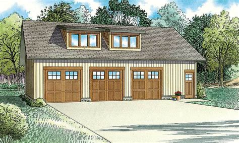 carriage house plans craftsman style carriage house with 3 car garage design 007g 0003 at 3 car craftsman style carriage house plan 60696nd