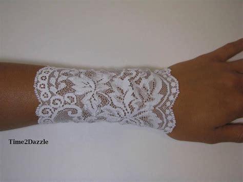 wrist lace tattoo lace wrist cuff stretch lace bracelet arm band