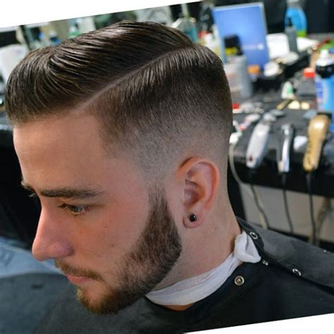 how to blend a lads a hair low fade side part pomp el corte pinterest love this
